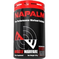 Купить Muscle Warfare Napalm 250 грамм в Луганске и ЛНР