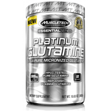 Купить MuscleTech Platinum 100% Glutamine, 300 грамм в Луганске и ЛНР