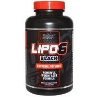 Nutrex Lipo-6 Black 120 капсул