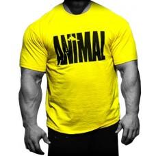 Фирменная футболка Animal, желтая